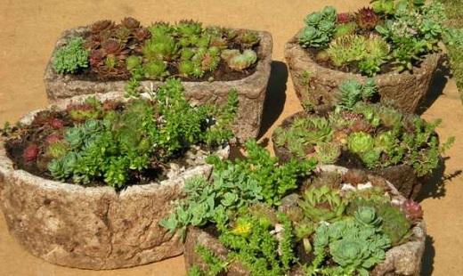 Переносные элементы сада