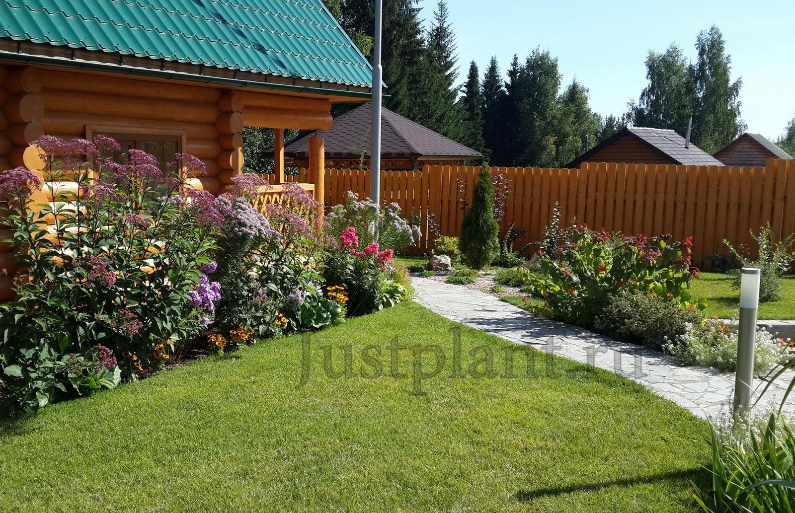 цветники в перми, цветник заказать в сад пермь