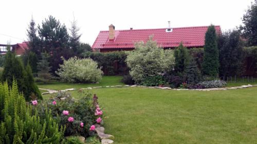 Центральный участок сада
