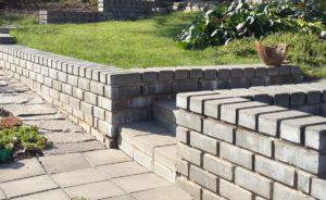 лестницы и подпорные стенки